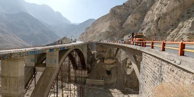 آزادراه تهران - شمال 95 درصد پیشرفت دارد