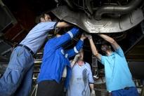 تصاویری از تعویض موتور ایرباس  ۳۰۰-۶۰۰ ایرانایر را ببینید