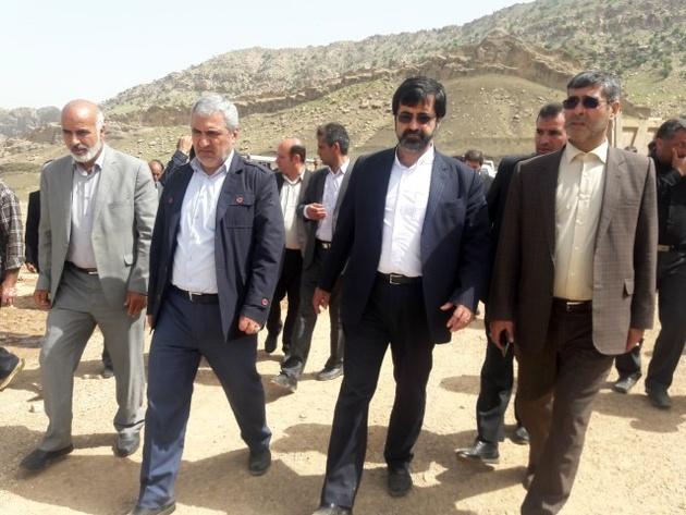 مشارکت راهداری اردبیل در ساخت و ساز مناطق سیل زده لرستان