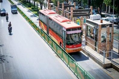 اجرای طرح AVL در ۱۰۰۰ دستگاه اتوبوس اصفهان تا پایان امسال