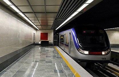بازدید معاون توسعه منابع انسانی شهرداری از شرکت بهره برداری متروی تهران