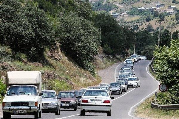 وضعیت جوی و ترافیک صبحگاهی جاده های کشور