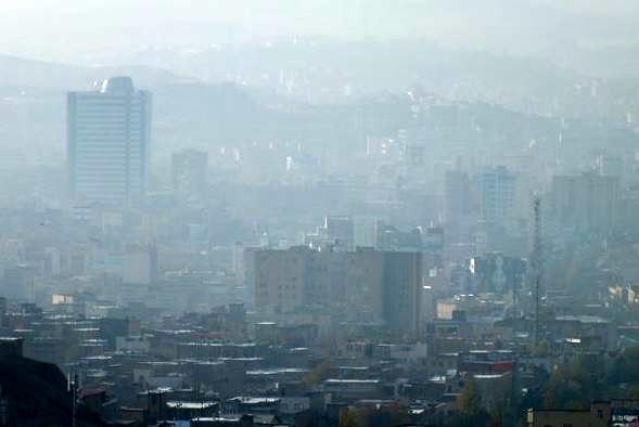 سهم 73درصدی وسایل نقلیه در آلودگی هوای تبریز