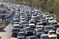 ترافیک نیمه سنگین در آزاد راه تهران -کرج و کرج- قزوین