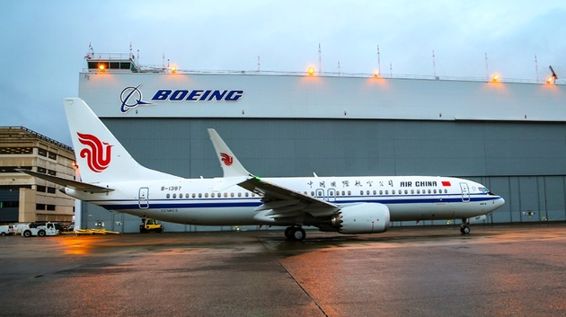 Air China Takes Delivery of China's First 737 MAX 8