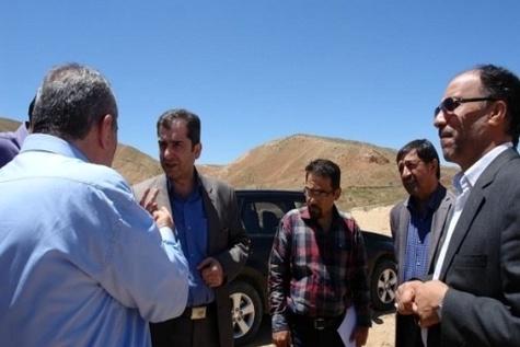 بازدید مدیر کل راه و شهرسازی خراسان شمالی از محور بجنورد به جنگل گلستان