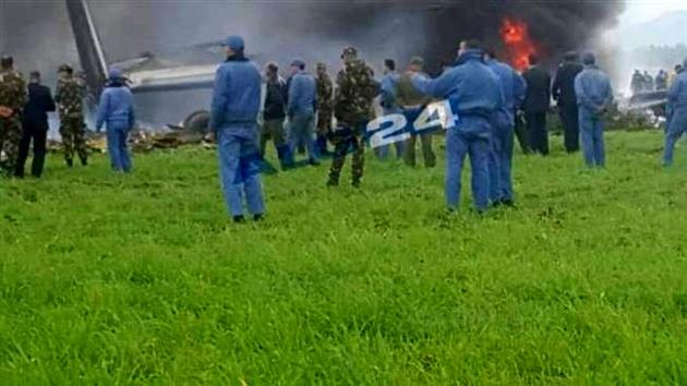 سقوط یک فروند هواپیما  در الجزایر؛ 200 نفر کشته شدند