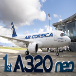 Air Corsica Takes Delivery of its First Airbus A320neo
