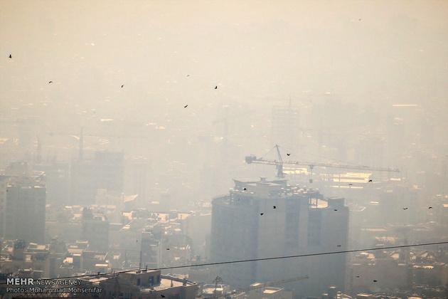 هوای تهران «ناسالم» شد
