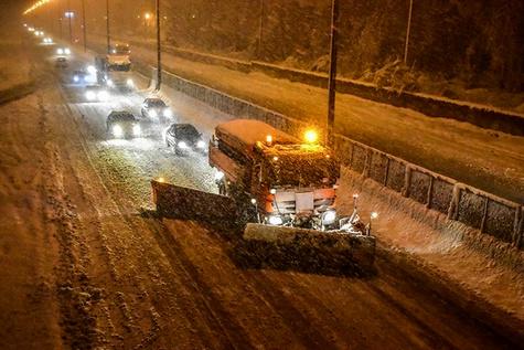 تصاویر| بارش سنگین برف در گیلان