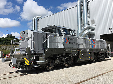 Vossloh locomotives on show at InnoTrans 2018