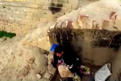 تصاویری عجیب از زندگی زیرزمینی معتادان در تهران