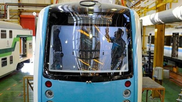 اولین قطار مترو ایرانی به خطوط تهران وارد میشود