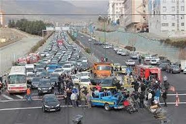 تهرانیها با ۶۲۹ نفر تلفات، صدرنشین تلفات ترافیکی کشور