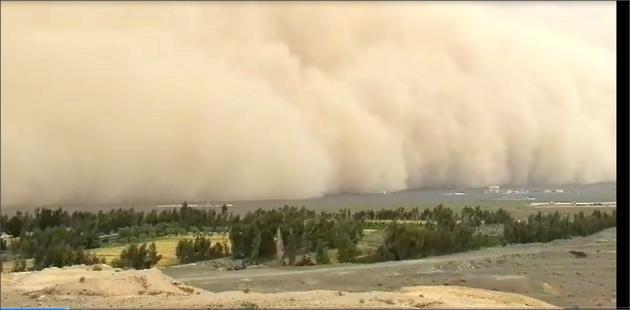 آخرین وضعیت طوفان چرخنده حارهای در  سواحل مکران