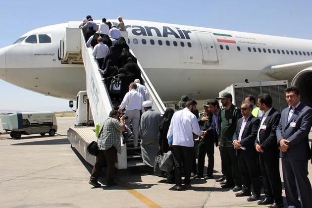 21 شهریور اولین حاجیان شیرازی به وطن باز میگردند