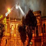چه چیزی در آتشسوزی میدان حسنآباد سوخت؟