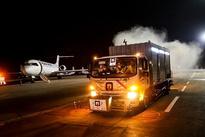 ضدعفونی فرودگاه بین المللی اهواز