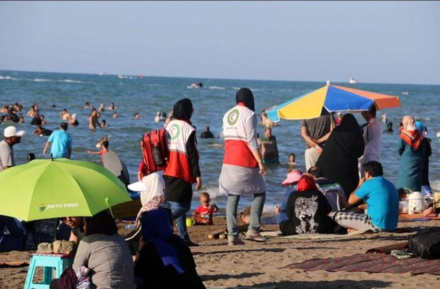 نجات ۵۴۴ نفر در دریای خزر طی یک ماه اخیر
