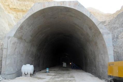 بزرگترین تونل جنوب کشور با ۸۰ درصد پیشرفت فیزیکی