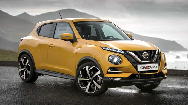 2020 Nissan Juke Shows Refined Funky Design In Renderings