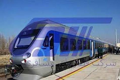 صدای سوت قطار رجا در شهر همدان