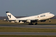 Iran Air to resume flights to Rome after ban on Mahan Air