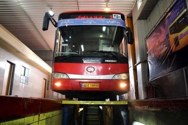 چه تعداد از اتوبوسهای تهران معاینه فنی دارند؟