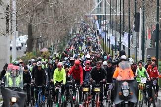 تصاویر همایش بزرگ دوچرخه سواری میرداماد