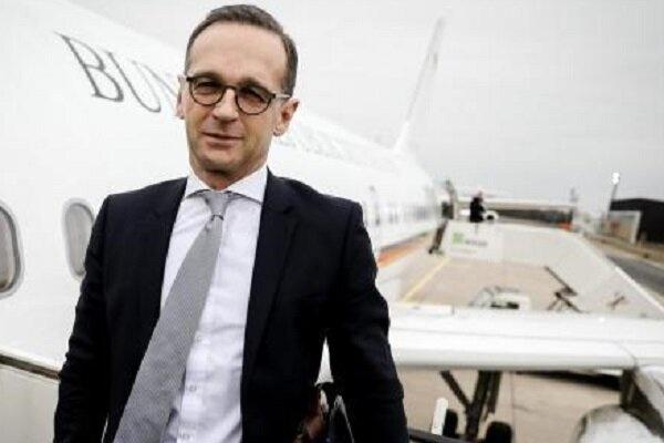 وزیر خارجه آلمان وارد ایران شد