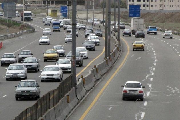 تردد جاده ای در 24 ساعت گذشته 15.9 درصد کم شد