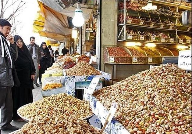 قیمت دندان شکن آجیل ها در شب یلدای یزد