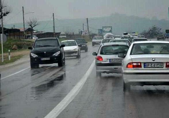 آخرین وضعیت جوی و ترافیکی راهها/توصیه پلیس به رانندگان