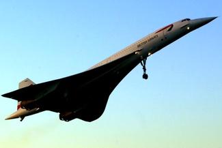 بازگشت یک هواپیمای کنکورد در پنجاهمین سالگرد پرواز