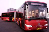 آیین بهرهبرداری از اتوبوسهای شهری تهران با حمایت بانک تجارت