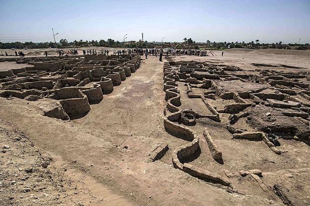 کشف شهر گمشده مصر در حوالی اقصر
