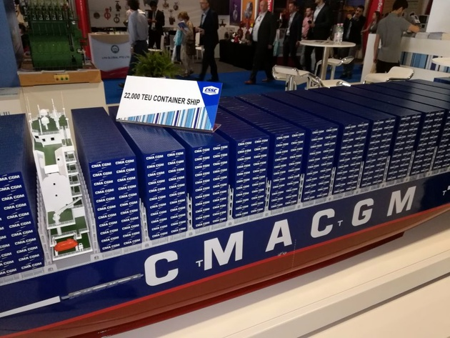 CMA CGM: Rotterdam Will Be LNG Bunkering Port for New ULCVs