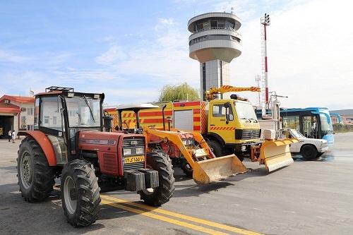 برگزاری موفق مانور عملیات زمستانی فرودگاه گرگان