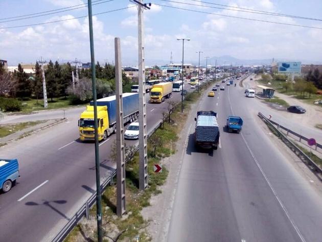 آخرین وضعیت جوی و ترافیکی محورهای مواصلاتی