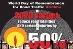 یادبود قربانیان حواد ث جادهای