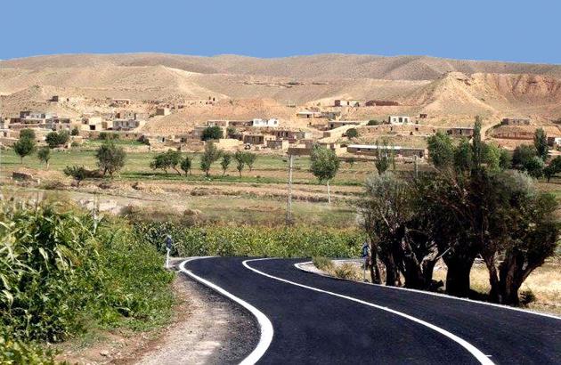 بهرهبرداری از ۲ راه روستایی در شهرستان منوجان