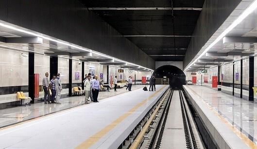 اتصال خط 6 مترو تهران به خط یک تا پایان سال