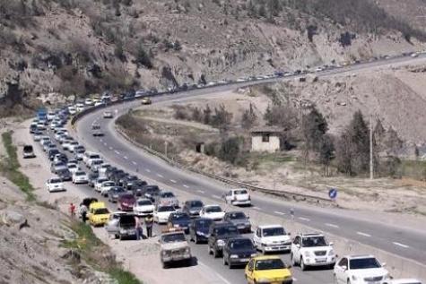 جدول وضعیت ترافیک لحظهای راههای اصلی و فرعی استان تهران-۲