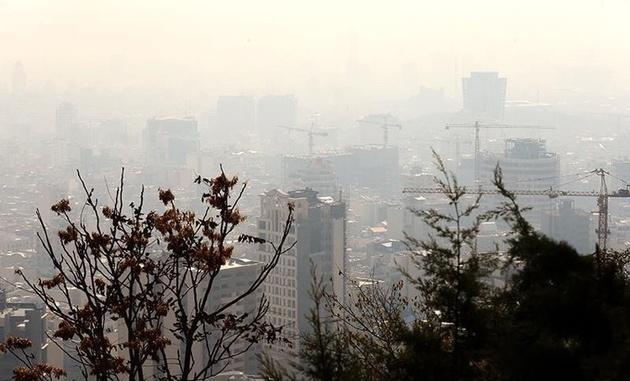 هوای پایتخت آلوده شد