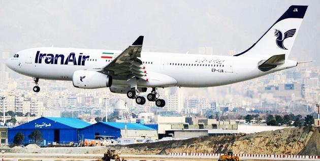 انجام پرواز فوقالعاده ایران ایر به پاریس در سوم خرداد