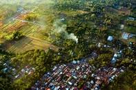 Paragliding haven: Manado Skyline, Tetempangan Hill