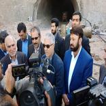 اتمام حفاری یکی از تونلهای بزرگراه تنگ ابوالحیات به قائمیه در استان فارس