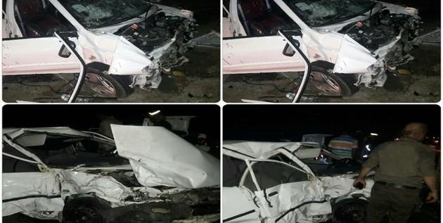 یک کشته و ۹ مصدوم در تصادف دو خودروی سواری در «خراسان جنوبی»