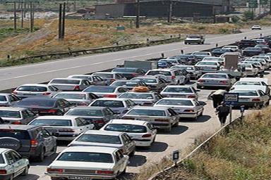 ترافیک پرحجم در برخی از محورهای خراسان جنوبی