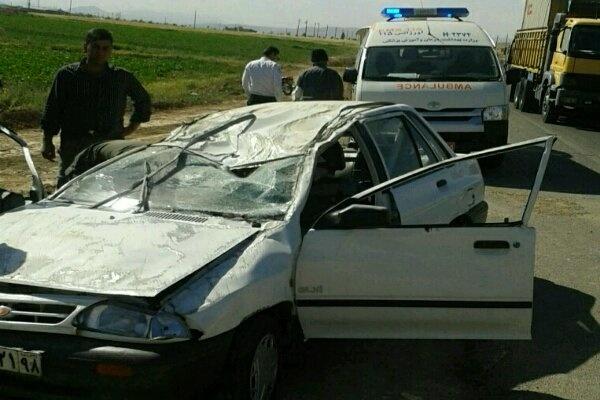 سوانح رانندگی در استان مرکزی 2کشته برجای گذاشت